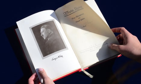 Hitler's Mein Kampf to be published in French