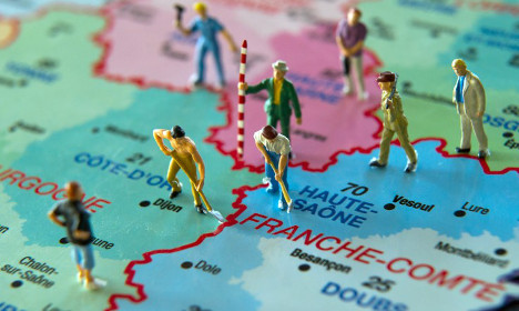 Where the French do and don't want to live