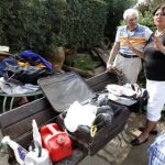 Nine held for looting after France's deadly floods