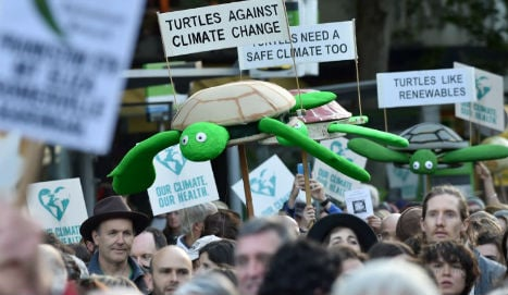Protests push leaders to avoid climate disaster