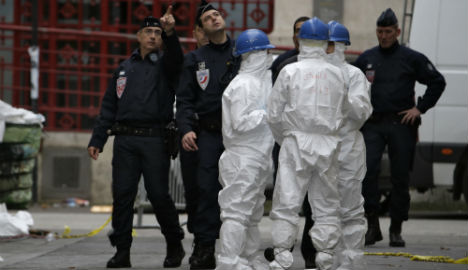French police free seven arrested in raid