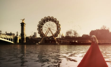 IN IMAGES: 'Water wheel hotel' planned for Paris