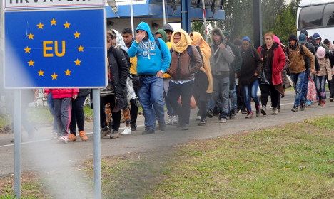 Attackers 'used migrant crisis to get into EU'