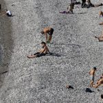 France basks in record-high temperatures