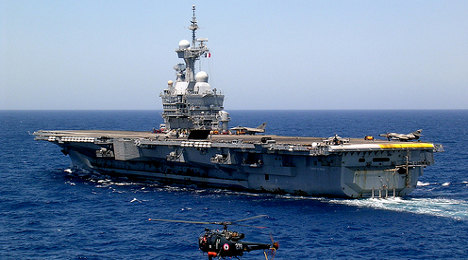 France to deploy biggest aircraft carrier to Gulf