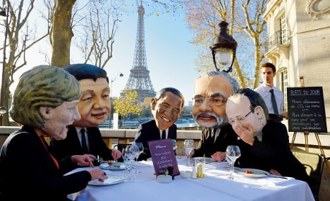 What 150 world leaders will eat for lunch in Paris