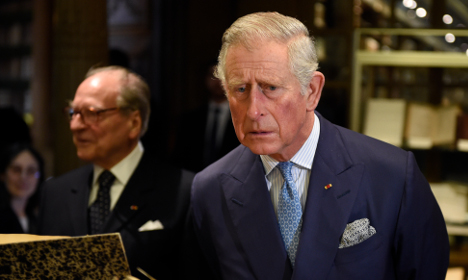 Prince Charles frets over future of French cheese