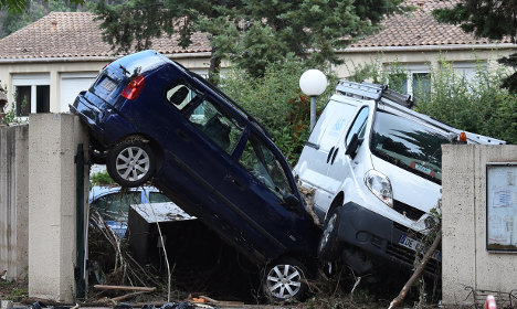 Southern France on alert for storms and floods
