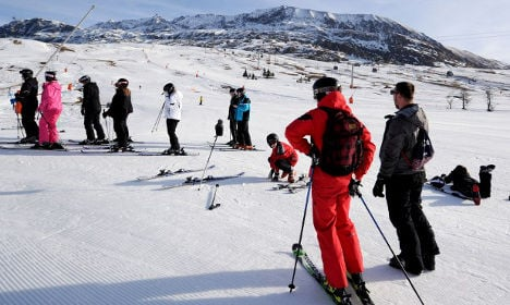 French Alps in need of Christmas snow dump