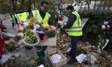 Paris a scarred city four weeks after terror attacks