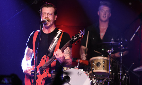 Eagles of Death Metal to play Paris in February