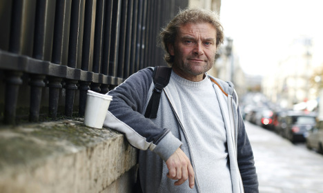 The French beggar who wrote a best-selling book