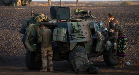 Mali group says France killed four of its fighters