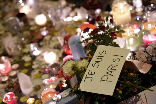 Video: Facebook marks tragic year for France