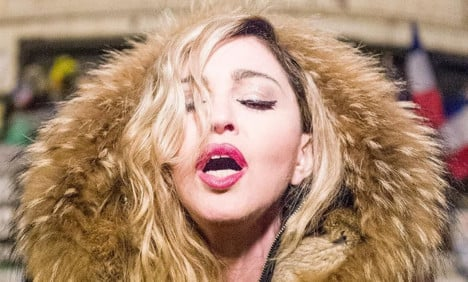Madonna in Paris: 'We will not bend to fear'
