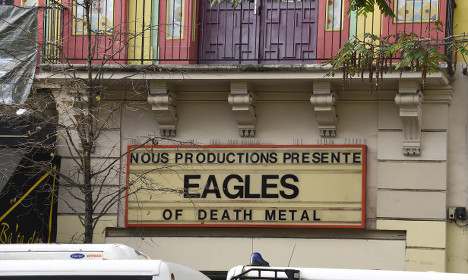 Eagles of Death Metal to play in Paris on Sunday