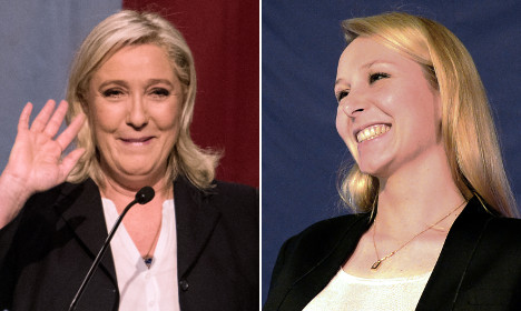 Le Pens: Aunt and niece lead far right charge