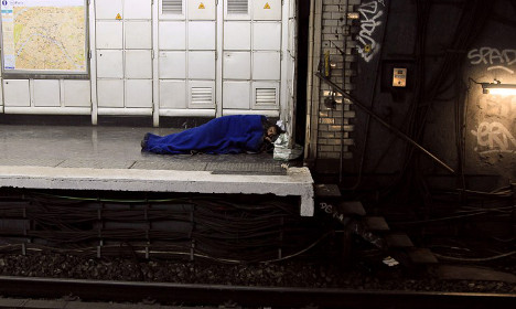 Jihadists 'could use homeless as cover to attack Paris Metro'