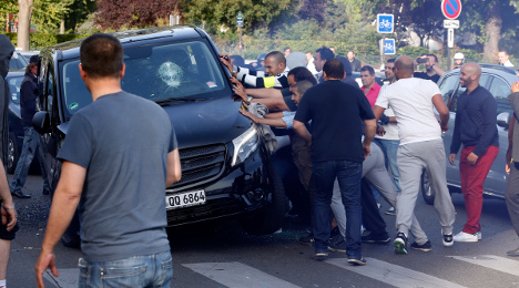 How Uber riled French taxi drivers ahead of Paris protest