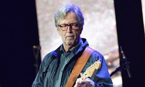 French court orders Eric Clapton to pay up for 'Layla' album cover