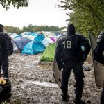 'Around 40' shots fired in fight at French refugee camp
