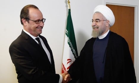 French companies jump to sign deals with Iran
