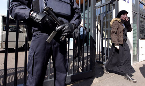 Security stepped up at nurseries in Paris