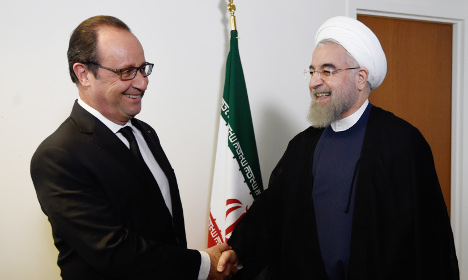 Hollande to welcome Iran's Rouhani but not for lunch
