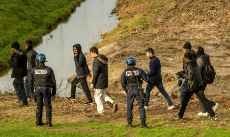 Eurotunnel floods land in bid to keep refugees out