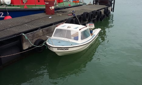 UK-bound migrants rescued from small boat in Channel