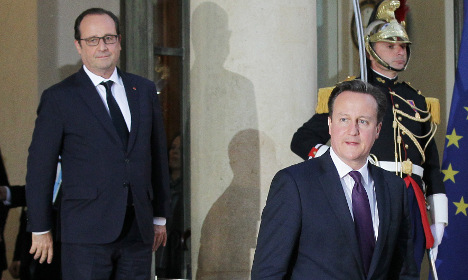 Cameron heads to Paris in bid to woo France over EU reform