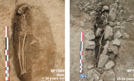 Europe's 'oldest' Muslim graves unearthed in France
