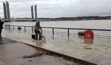 IN IMAGES: Bordeaux floods after heavy rain in south west