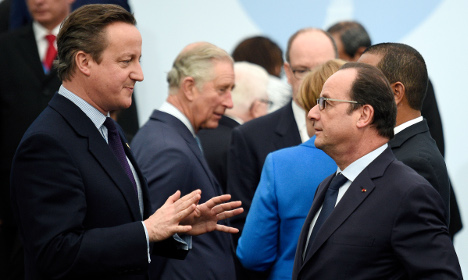 France fires warning to Britain over eurozone veto