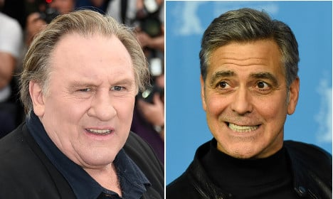 France's Gérard Depardieu lashes out at George Clooney