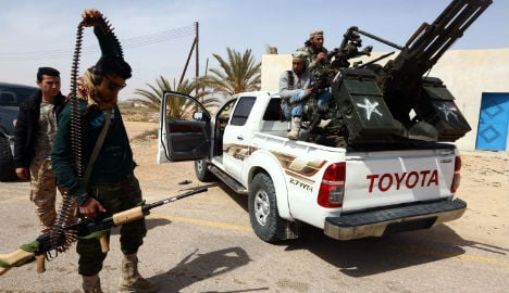 No time to lose in Libya says French FM