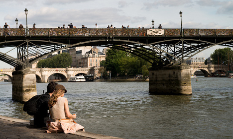 Revealed: The real romantic spots in Paris