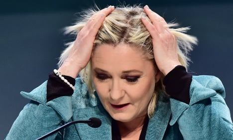 And the 'Liar of the year' award goes to Marine Le Pen