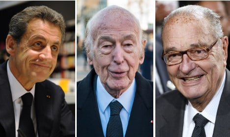 Revealed: The huge cost of France's ex-presidents
