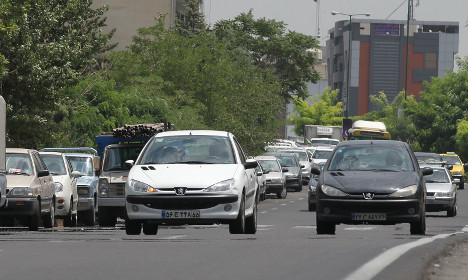 France's Peugeot gifts €427m in perks to Iran carmaker