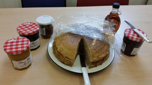 Outrage after the 'English massacre French crepes'