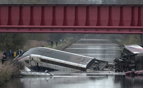 French train 'was 90km/h over limit' before deadly crash