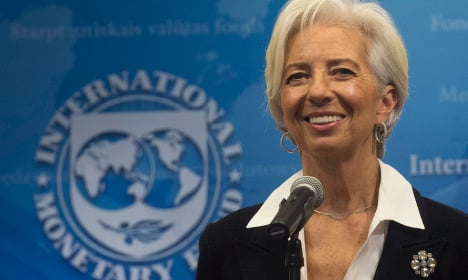 France's Lagarde appointed for second term as IMF chief