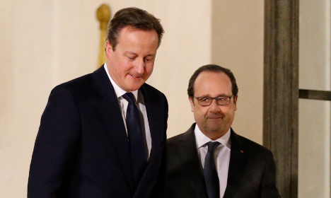 Cameron and Hollande fail to strike Brexit deal