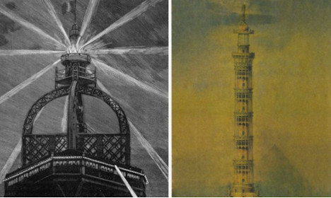 See what Paris could have had instead of the Eiffel Tower