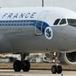 Woman hid child in bag on Air France flight to Paris