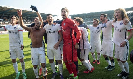 PSG face Manchester City in Champions League quarters