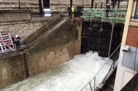 Canal Saint-Martin finally gets its water back