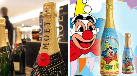 Champagne loses battle to ban kids drink 'Champin'