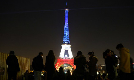 Eiffel Tower to light up in colours of Belgium in solidarity